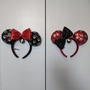Disney Minnie matching ears